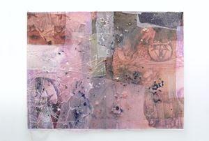 Chakra crachat (2) by Mimosa Echard contemporary artwork