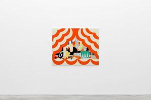 The Ballet by Farah Atassi contemporary artwork