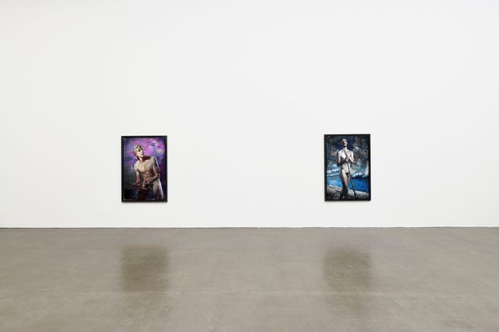 Exhibition view: Martin Eder, Martyrium, Galerie EIGEN + ART, Leipzig (18 November–20 December 2017). Courtesy Galerie EIGEN + ART, Leipzig. Photo: Uwe Walter, Berlin.