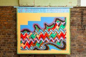 Scab Diagram (Traditional Object) by Lisa Alvarado contemporary artwork