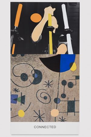 Miró and Life in General: Connected by John Baldessari contemporary artwork