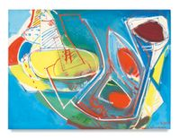 Obliquité by Hans Hofmann contemporary artwork painting