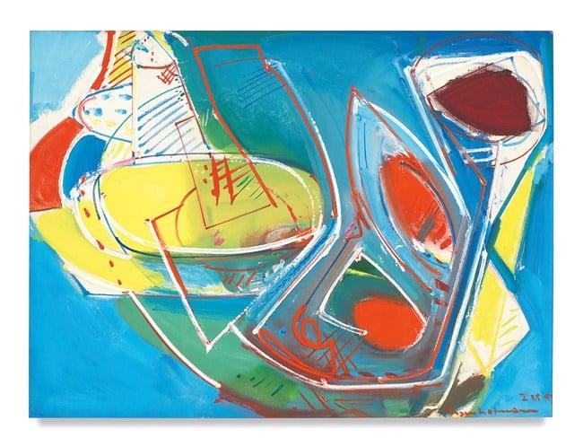 Obliquité by Hans Hofmann contemporary artwork