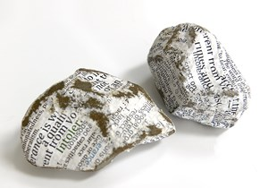 Protest Stones (Brexit) by Stefana McClure contemporary artwork