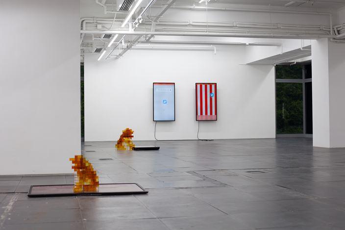 Liang Ban, Stutter No. 1(2020).Courtesy de Sarthe Gallery.