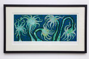 Night Flowers (B) by Yayoi Kusama contemporary artwork