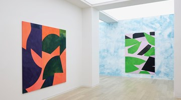 Contemporary art exhibition, Sarah Crowner, Paintings for the Stage at Simon Lee Gallery, Hong Kong