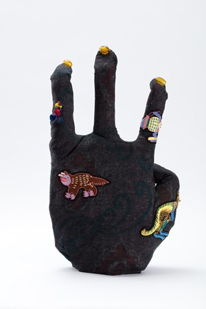 Hand of Japan by Francis Upritchard contemporary artwork