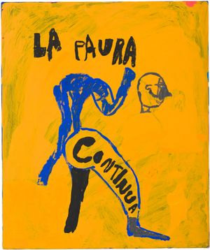la paura continua by Tom Polo contemporary artwork