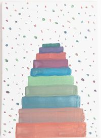 Work No. 1498 by Martin Creed contemporary artwork painting