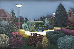 The Neighbourhood No.1 by Esther Janssen contemporary artwork painting, works on paper, sculpture