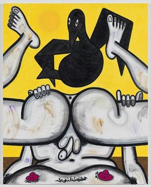 Self Examination (4) by Carroll Dunham contemporary artwork