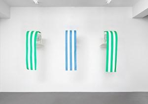Westwind by Daniel Buren contemporary artwork mixed media