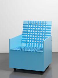 Clubchair 59 by Mary Heilmann contemporary artwork sculpture