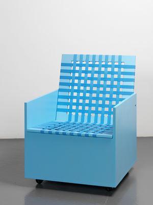 Clubchair 59 by Mary Heilmann contemporary artwork