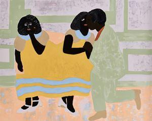 The peculiar love life of Vania & Velma by Cassi Namoda contemporary artwork