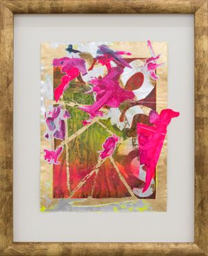 sweet victory (exploded book: French Painting) by Miranda Parkes contemporary artwork