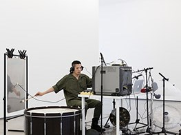 Composing a symphony of war with instruments and everyday objects