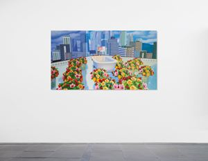 Home Sweet Home: Flower Tub Pool 2020 3 by Mak Ying Tung 2 contemporary artwork