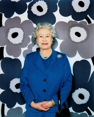 Her Majesty, The Queen, Elizabeth II by Polly Borland contemporary artwork