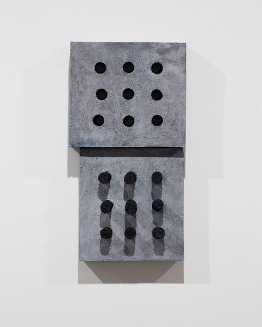 Response (2 parts) by Julia Morison contemporary artwork