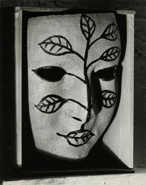 Masque peint (Painted Mask) by Man Ray contemporary artwork