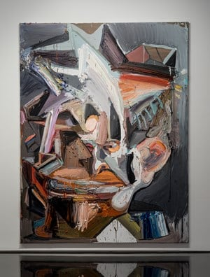The politician by Ben Quilty contemporary artwork