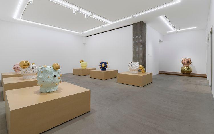 Exhibition view: Takuro Kuwata,TEE BOWL, KOSAKU KANECHIKA, Tokyo (17 July –21 August 2021). Courtesy KOSAKU KANECHIKA. Photo: Yasushi Ichikawa.