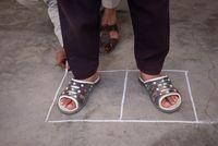 Chalk Drawings by Aziz Hazara contemporary artwork photography