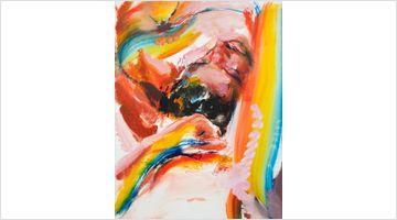 Contemporary art exhibition, Doron Langberg, Give Me Love at Victoria Miro, Wharf Road, London