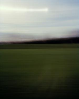 University Oval Cricket Field (Described by Mark Flowerday) by Conor Clarke contemporary artwork