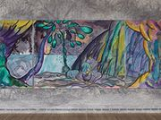 Chris Ofili: Weaving Magic review - totally tropical tapestry