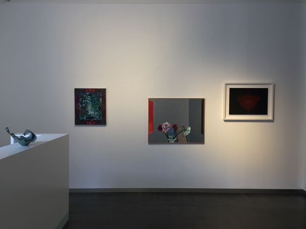 Exhibition view: Group Exhibition, Thank you for the Flowers, Beck & Eggeling International Fine Art, Düsseldorf (6 July–1 September 2018). Courtesy Beck & Eggeling International Fine Art.