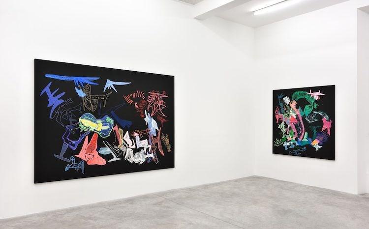 Exhibition view: Leelee Kimmel,Nuwar, Almine Rech, Paris (6 June–27 July 2019).© Leelee Kimmel.Courtesy the Artist and Almine Rech.Photo: Rebecca Fanuele.