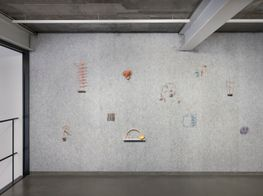 "Cecilia Vicuña<br><em>Quipu Girok (Knot Record)</em><br><span class=""oc-gallery"">Lehmann Maupin</span>"