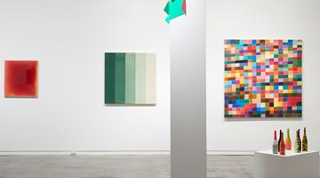 Contemporary art exhibition, Group Exhibition, WestFarbe: Paint vs Colour at Two Rooms, Auckland