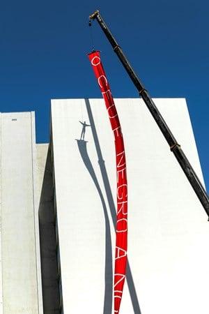 Temporary Monument N7: O Pairado (São Paulo) by Fyodor Pavlov-Andreevich contemporary artwork