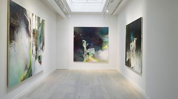 Contemporary art exhibition, Justin Mortimer, It Is Here at Parafin, London