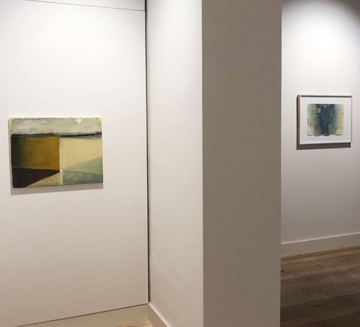 Exhibition view: Hans Boer & Peter Tollens, Intermediate Hanging, Galerie Albrecht, Berlin (17–28 November 2020). CourtesyGalerie Albrecht.