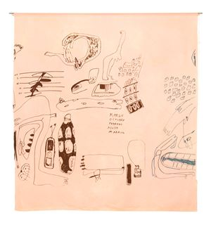 Meses (Rosado) by Cristina Umaña contemporary artwork