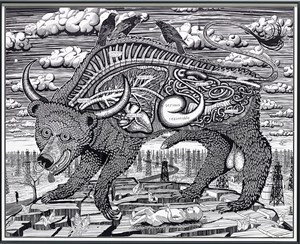 ANIMAL SPIRIT (LARGE) by Grayson Perry contemporary artwork