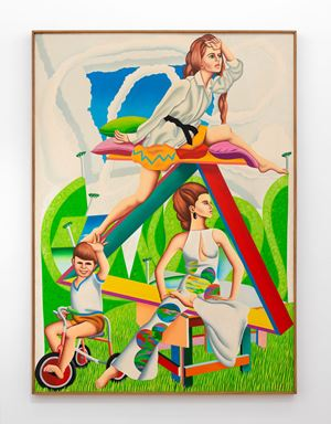 Motor Rocker by Ian Scott contemporary artwork