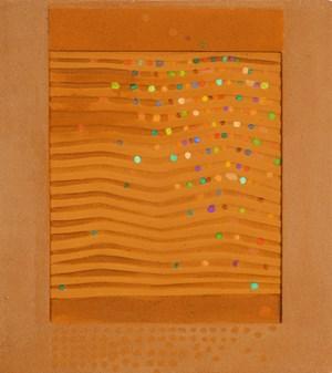 Sandrelief by Heinz Mack contemporary artwork