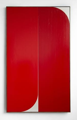 Red #2 by Johnny Abrahams contemporary artwork