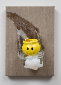 Smiley by Judy Darragh contemporary artwork mixed media