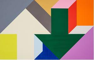 Arrow Painting 03 by Tony Tasset contemporary artwork