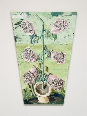 Odyssey roses by Ken Taylor contemporary artwork