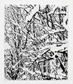 SNOW FOREST 007A by Farhad Moshiri contemporary artwork 1