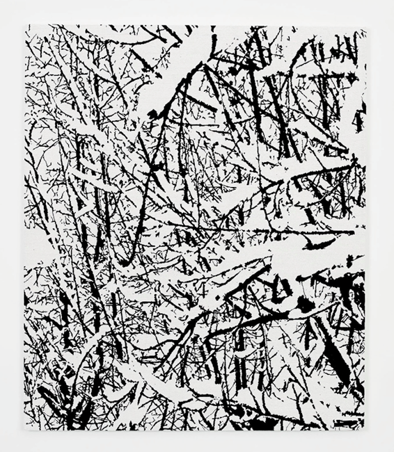 SNOW FOREST 007A by Farhad Moshiri contemporary artwork