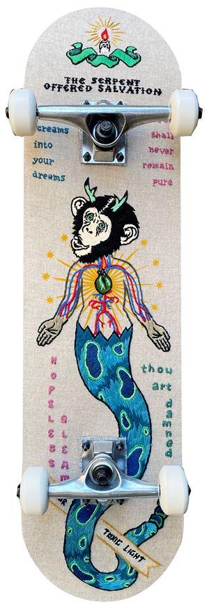The Serpent offered salvation by Koichiro Takagi contemporary artwork